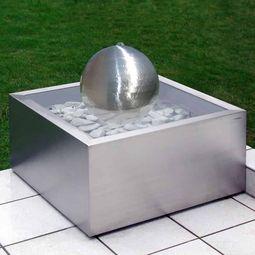 Brunnen aus Edelstahl Lizzy Heinen