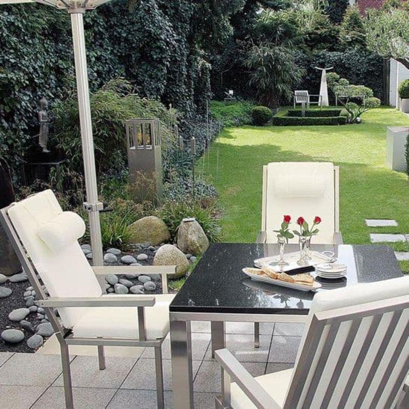 Edelstahldesign Outdoor: Gartenmöbel und Sitzmöbel