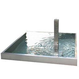 Wasser in Bewegung bringt Entspannung in den Garten – Brunnen und Wasserspiele aus Edelstahl
