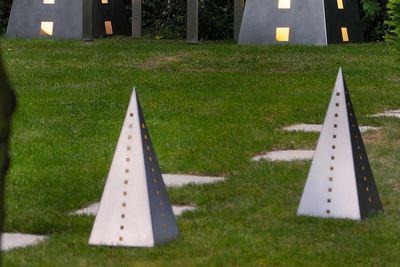 Dekoration Pyramide Edelstahl Lizzy Heinen