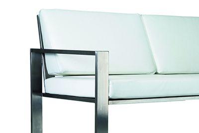 Loungesofa aus Edelstahl Design Lizzy Heinen