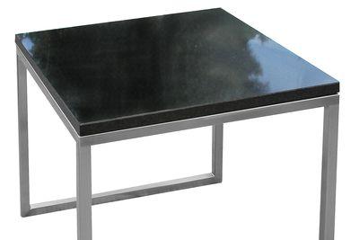 Edelstahl Beistelltisch Granitplatte Lizzy Heinen