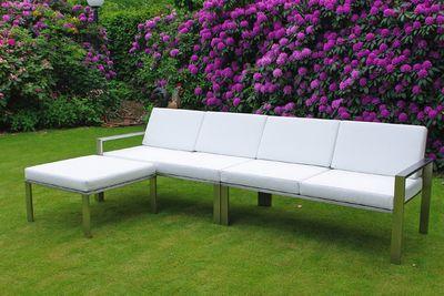 Loungemodul aus Edelstahl von Lizzy Heinen Design