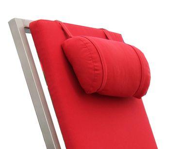 Nackenrolle von Lizzy Heinen Design für Liege aus Edelstahl