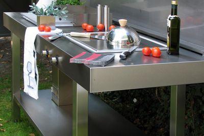 Edelstahlküche Outdoor Design Lizzy Heinen