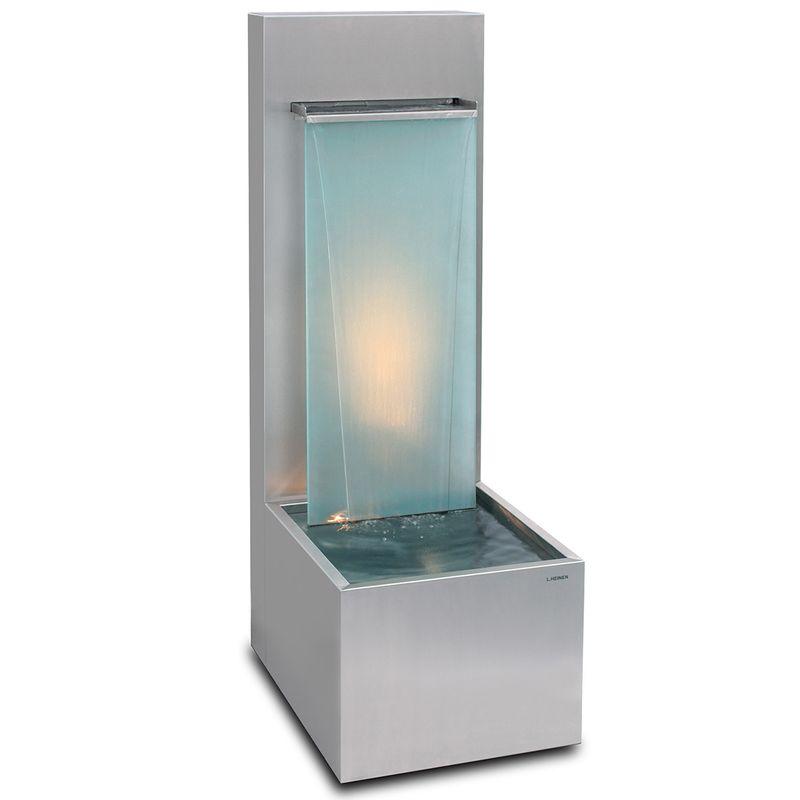 Edler Brunnen für Indoor und Outdoor geeignet. Design im Bauhausstil von Lizzy Heinen.