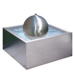 Edelstahl Brunnen Design Lizzy Heinen