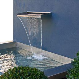 Brunnen aus Edelstahl von Lizzy Heinen
