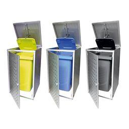 Stilvolle Müllbox aus Edelstahl im zeitlosen Design von Lizzy Heinen.