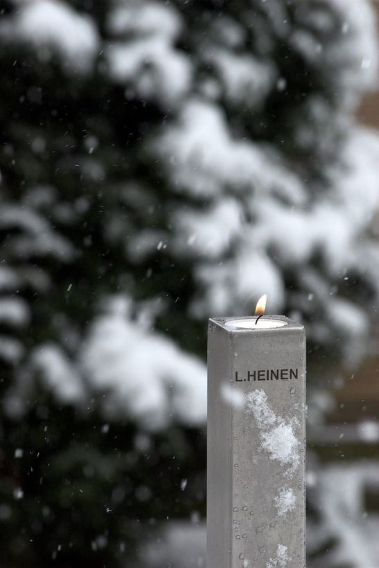 Kerzenhalter aus Edelstahl